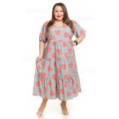 Трендовые фасоны платьев большого размера на 2021 год